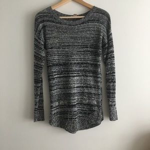 LOFT Ann Taylor Crewneck Striped Sweater
